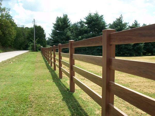 Ranch fence w bar y company fences